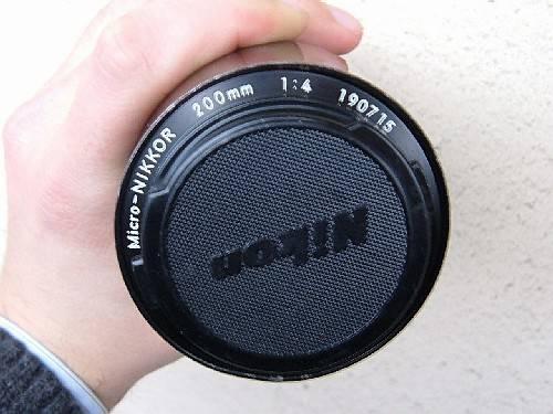 Micro Nikkor 200mm